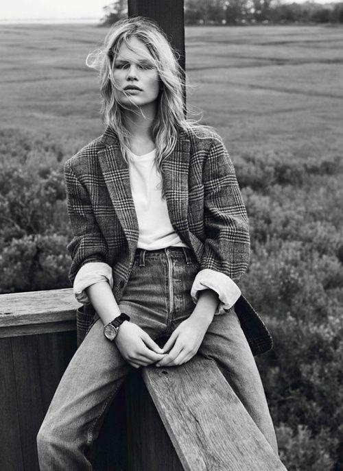 Vogue FR, Photo by Josh Olins, styled by Géraldine Saglio.
