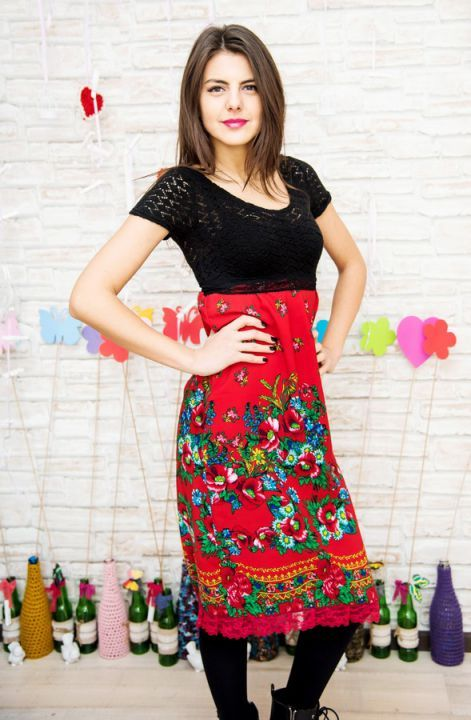 rochie rosie , casual,trendy