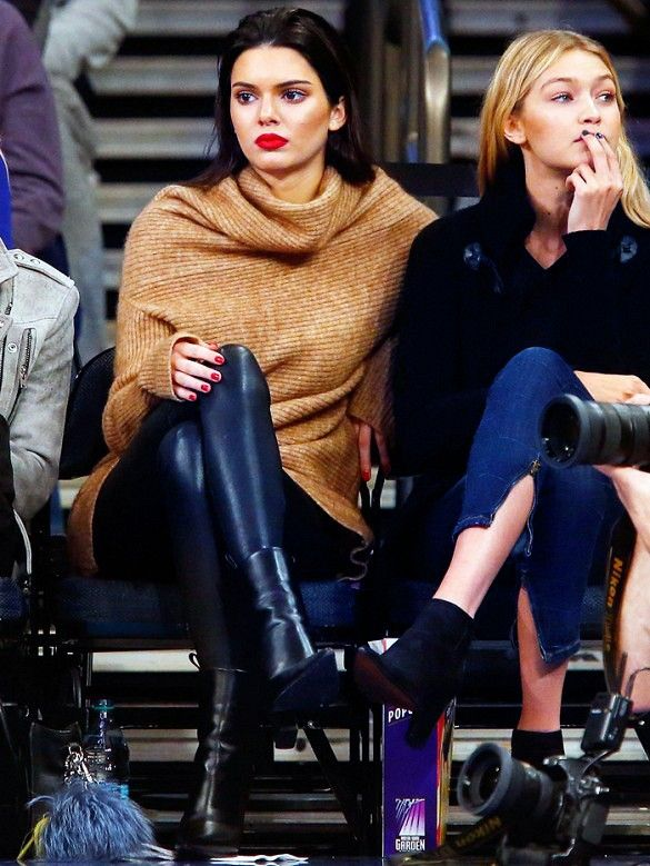 Kendall Jenner's Perfect Oversized Sweater Is Under $100 via @WhoWhatWear