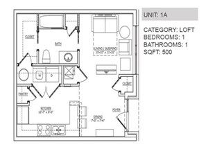 1000 images about floor plans on pinterest for Quadruplex apartment plans