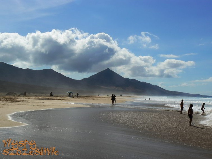 #Fuerteventura, Plaża #Cofete w obiektywie Pauliny.