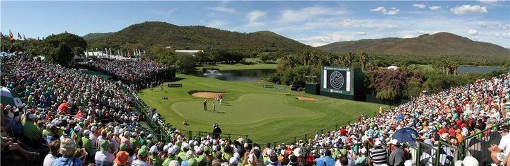 18th hole - Nedbank Golf Challenge (Gary Player Golf Course)