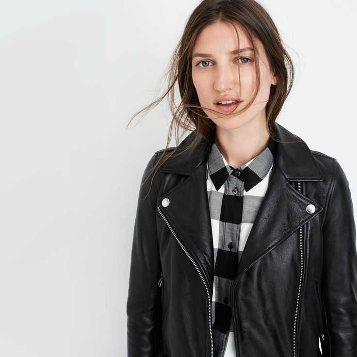 Ultimate Leather Motorcycle Jacket : leather jackets   Madewell