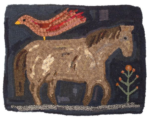 Annie Hayes hooked rugs
