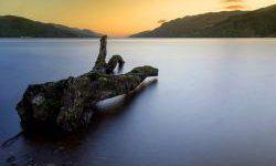 SCOZIA - Fort Augustus. Highland scozzesi, piccolo villaggio bagnato dalle acque oscure di Loch Ness