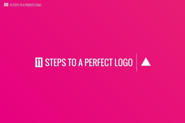 Create a logo design 1 Follow 11 Steps to Make A Logo Design