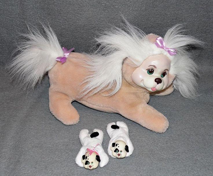 Puppy Surprise Hund + 2x Baby im Bauch Hasbro 80er 90er Jahre Plüsch Spielzeug 6 in Spielzeug, Stofftiere, Haustiere | eBay