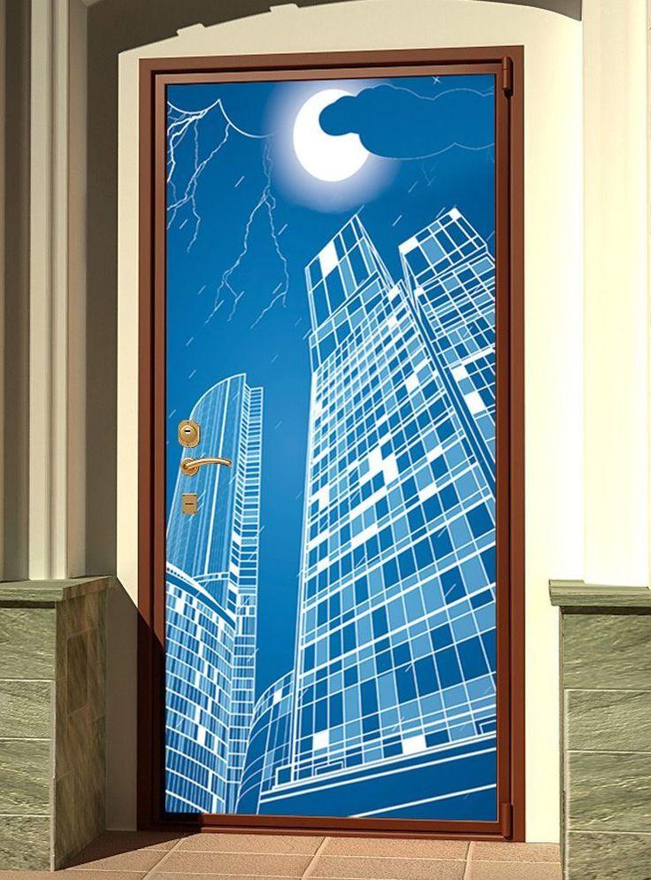 Door sticker – Full moon 2