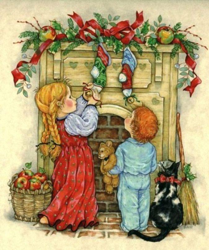 новогодние открытки с сюжетом наложила