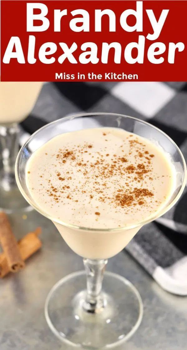 Brandy Alexander Is A Classic Cocktail With Just 3 Ingredients