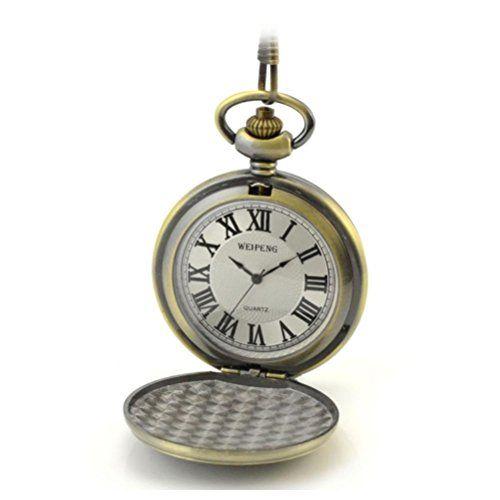 ANNA&JOE Los hombres abuelo regalo retros reloj de bolsillo de Dama antiguo reloj de bolsillo tabla Memorial reloj de bolsillo collar