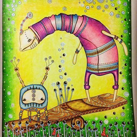#adultcoloringbook #раскрасскаантистресс #zendoodle #зендудл #диляраголубятникова
