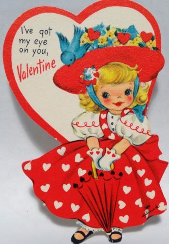 110 best Vintage valentine Cards  Clothes  Fashions images on