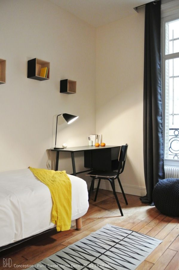 22 best Lu0027Agence  Chambre images on Pinterest Bedroom apartment