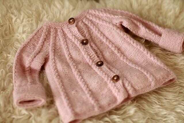 Ravelry: bubbs baby jacket