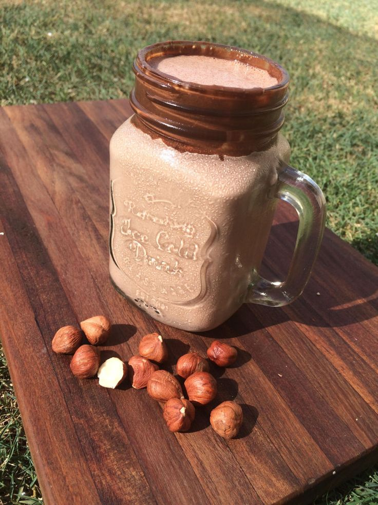 HEALTHY Nutella Inspired Healthy Mummy Smoothie