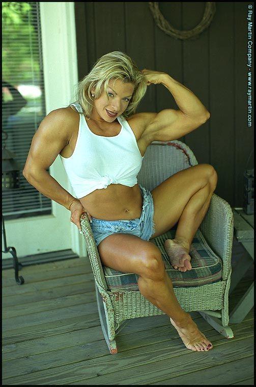 #2 Debi Laszewski #female #muscle | beautiful feet