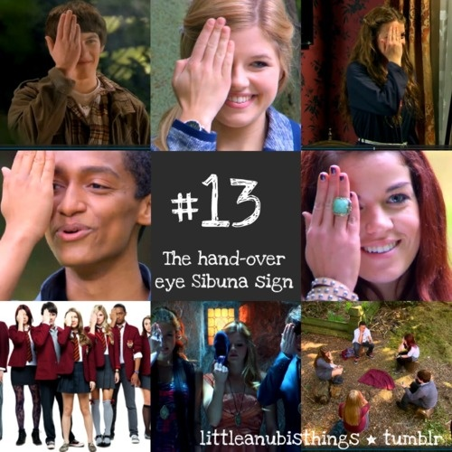 House of Anubis go Sibuna My friends and I always do this when we watch the show