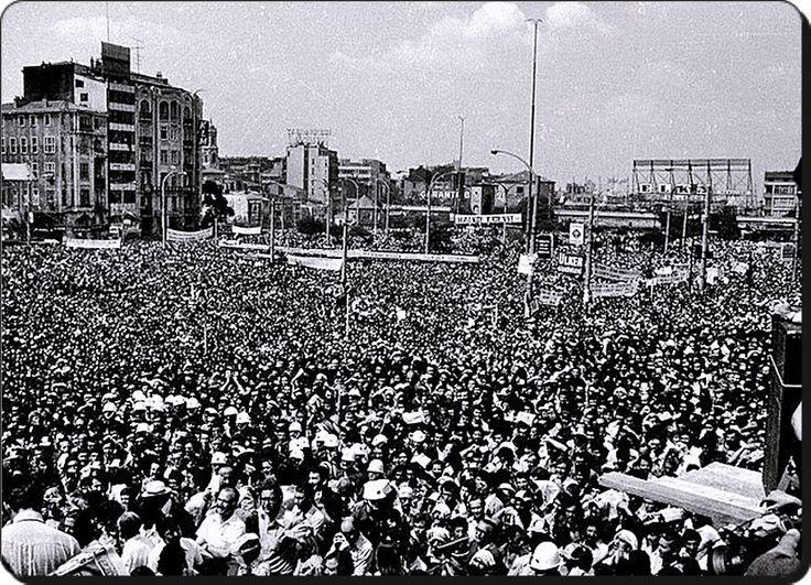Taksim, 1 Mayıs 1977