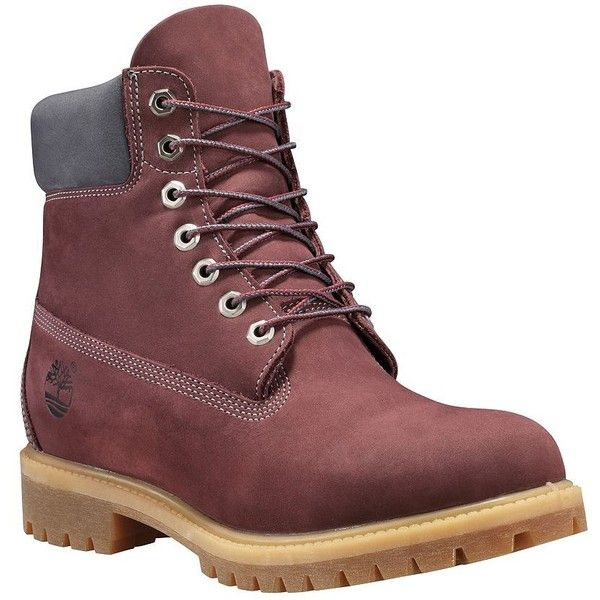 Timberland Limited Edition 6-Inch Premium Waterproof Boots (€90) ❤ liked on Polyvore featuring men's fashion, men's shoes, men's boots, men's work boots, dark port, timberland mens work boots, mens water proof boots, timberland mens boots, mens waterproof work boots and mens waterproof boots