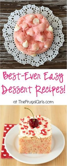 Best Ever Easy Dessert Recipes!