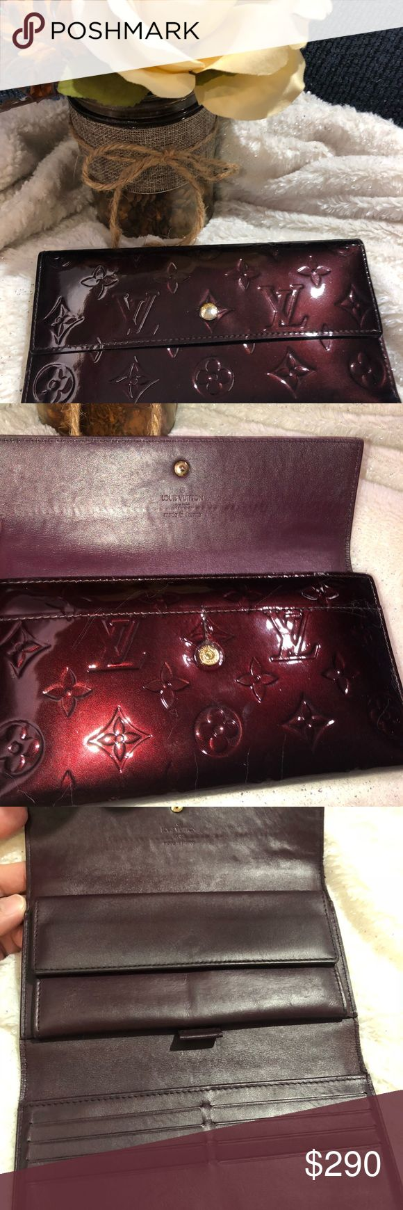 Lv vernis 3-fach Brieftasche Authentic pre loved LV vernis 3-fach Brieftasche in …   – My Posh Closet