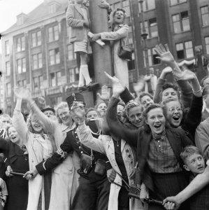 Bevrijding in Amsterdam, 1945