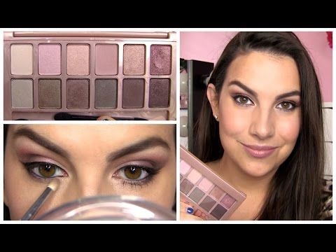Maybelline The Blushed Nudes Palette Review - YouTube