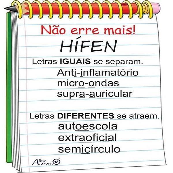 Não erre mais!!! #hifen #DicasDePortugues