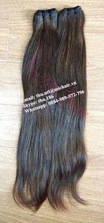 Mic Hair Thu: DOUBLE DRAWN BROWN STRAIGHT WEFT HAI…