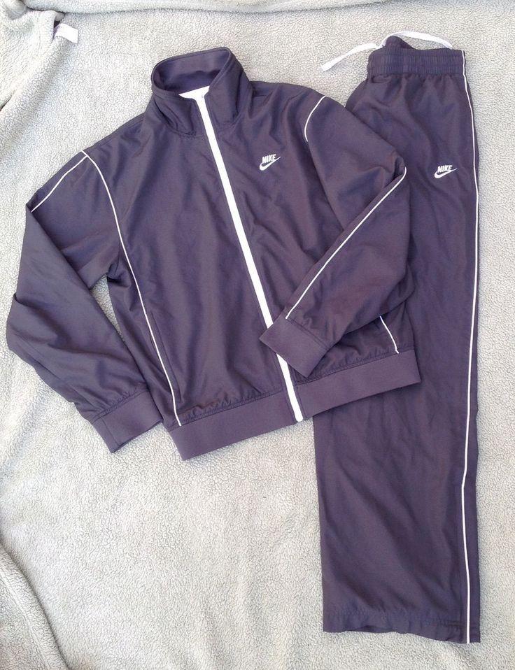 NIKE sweatsuit mens medium 2 piece sportswear GUC Free Shipping | eBay