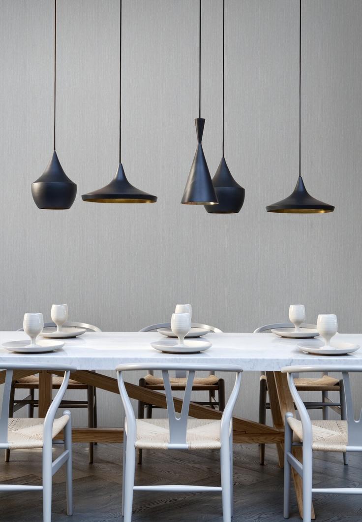 Grey Wallpaper / Grijs Behang collectie Impulse - BN Wallcoverings