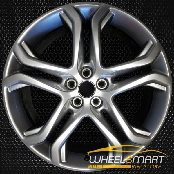 19 Ford Edge Oem Wheel 2015 2018 Silver Alloy Stock Rim 10045