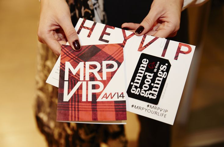 Our VIP shopping gift vouchers, courtesy of @M R Price. #MrPVIP #Fashion > For more BTS pics > http://www.mylifeinpink.co.za/?p=560