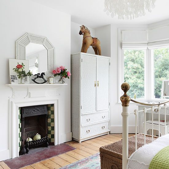 Traditional white wardrobe   Transform your bedroom with a wardrobe   Bedroom   PHOTO GALLERY   25 Beautiful Homes   Housetohome.co.uk