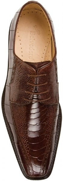 Brown Ostrich/Eel shoes SWEET!!