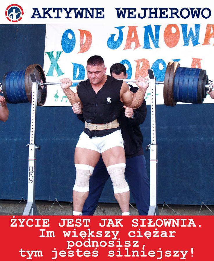 #aktywnewejherowo #motywator #dariuszjarzynski #trening #zdrowie #sport #rumia #ciezary #silownia #sztanga #polska