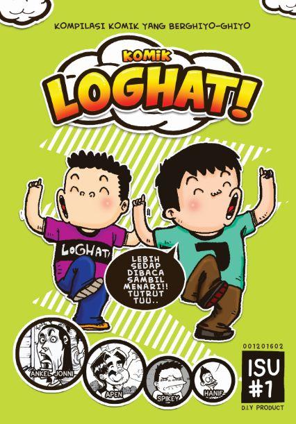 Sebuah Komik Indie LOGHAT gabungan dari 4 Kartunis Indie. Komik ini berunsur lawak dan santai mempunyai hampir 46 muka surat kartun. #loghat