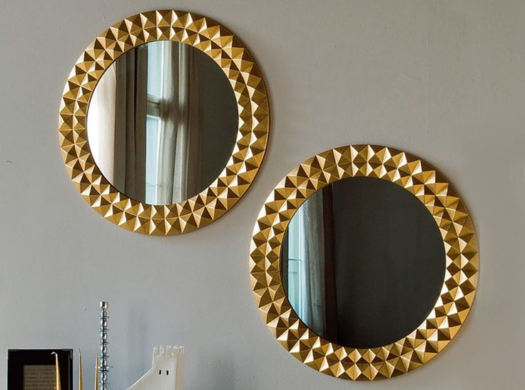Egypt Round Wall Mirror by Cattelan Italia - $1,245.00
