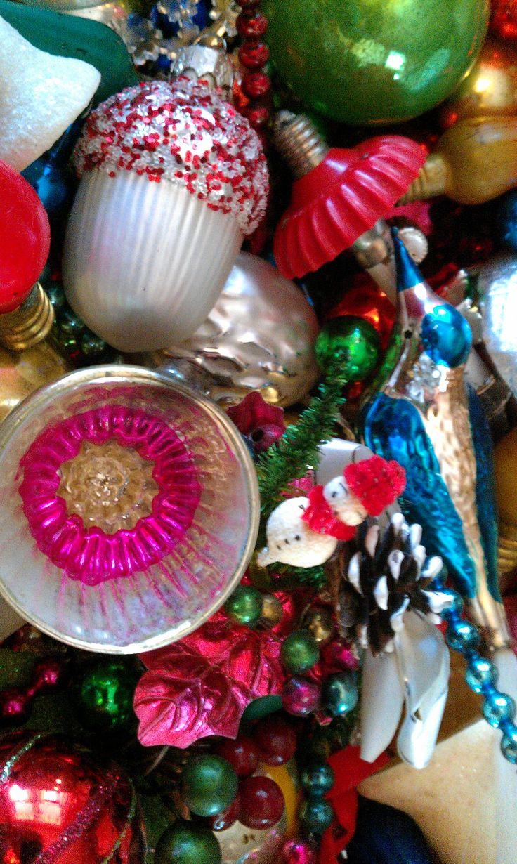 Vintage Christmas Trimmings