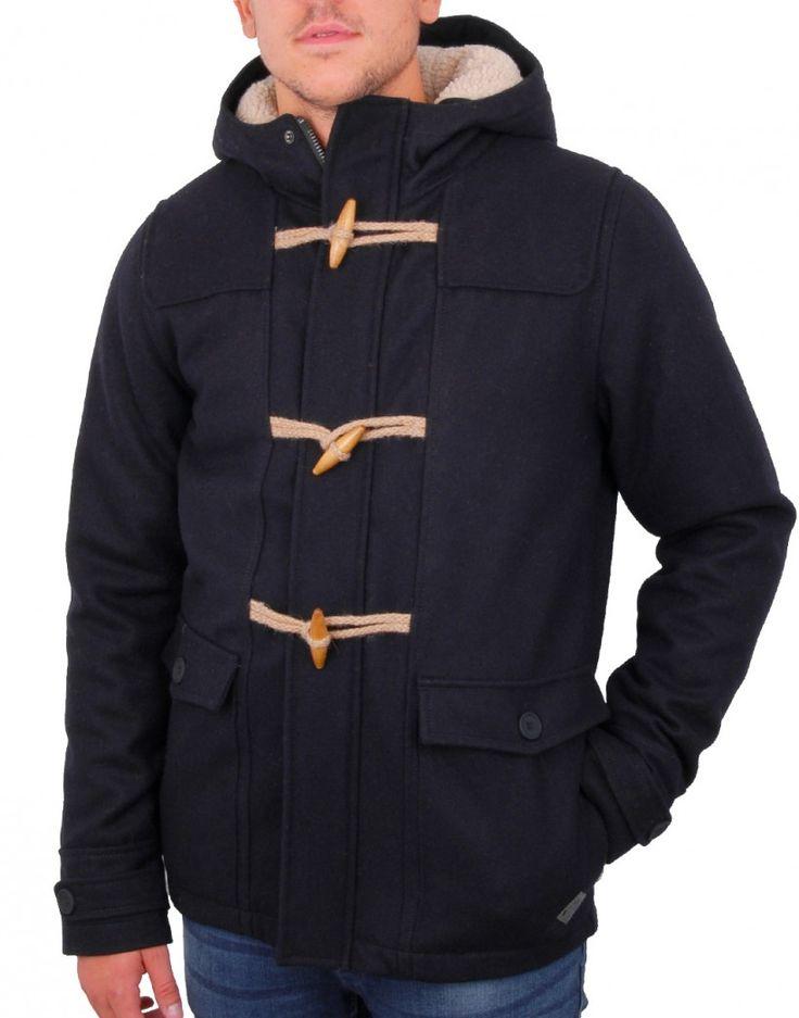 Minimum dufflecoat bleu marine Percy - vêtements homme, besace homme
