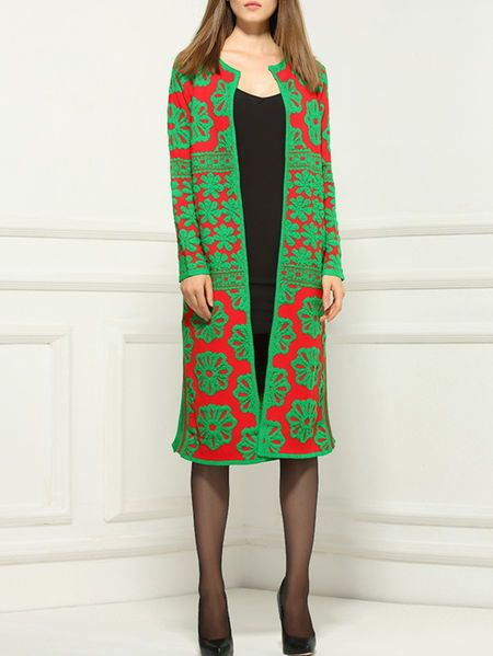 Paneled Wool Coat