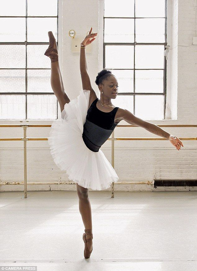 A dream come true for this young lady: Michaela DePrince, adopted from Sierra Leone (along with her sister) by US couple, is an international ballet star.