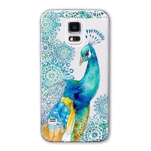 Various Fashion Designer Printed Soft Transparent Case for Samsung Galaxy S5 - 21 Designs