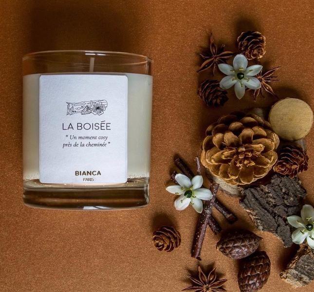 Bougie parfumée La Boisée de Bianca Paris