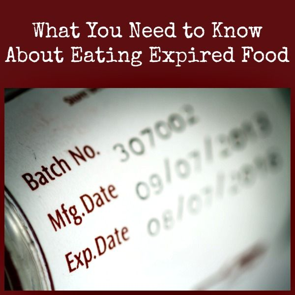 Nearly everyone has discovered some expired food lurking in the back of their pantry. But do you have to throw it out? Maybe not.  Here is what you need to know.  via www.BackdoorSurvival.ciom