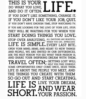 great words to live by: Short, Life, Inspiration, Quotes, Wisdom, Thought, Things