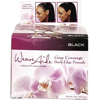 Weave Aide Gray Coverage Dark Edge Pomade - Black 2 oz $5.85    Visit www.BarberSalon.com One stop shopping for Professional Barber Supplies, Salon Supplies, Hair & Wigs, Professional Product. GUARANTEE LOW PRICES!!! #barbersupply #barbersupplies #salonsupply #salonsupplies #beautysupply #beautysupplies #barber #salon #hair #wig #deals #sales #WeaveAide #Gray #Coverage #Dark #Edge #Pomade #Black
