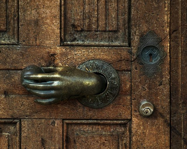 door and handle