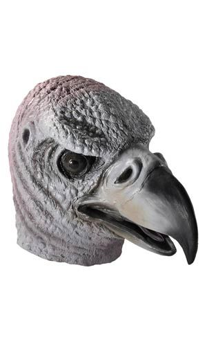 Deluxe Latex Vulture Mask - Animal Masks